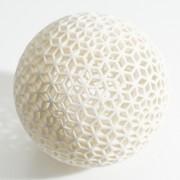 White-Plaster-low-cost-Material-Ponoko