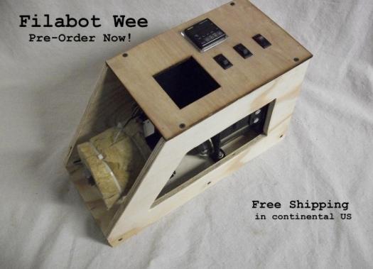 Filabot Wee-Kit Filament Extruder