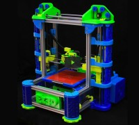 EZ3D Desktop 3D Printer 3D Drucker
