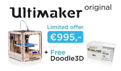 Ultimaker Doodle3D Bundle