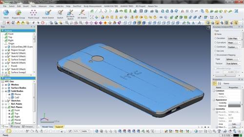 Geomagic Design X Screenshot