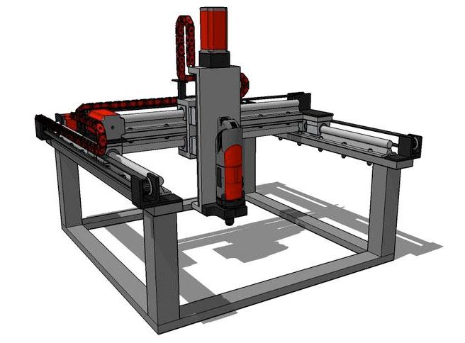 buildersbot cnc maschine und 3d drucker zum selber bauen