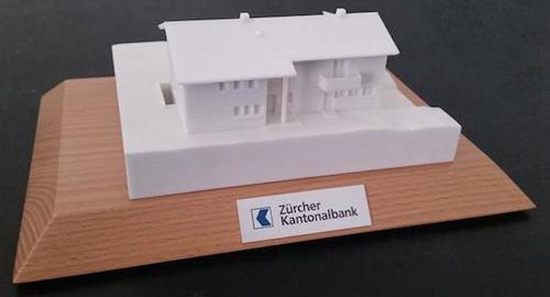 weltweit erste hypothek zum anfassen 3d druckt f r z rcher kantonbank h user. Black Bedroom Furniture Sets. Home Design Ideas