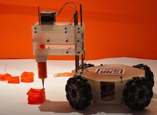 3 dbot 3d druck roboter. Black Bedroom Furniture Sets. Home Design Ideas
