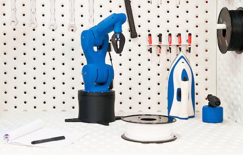 roboter greifarm mit dem zortrax m200 gedruckt. Black Bedroom Furniture Sets. Home Design Ideas