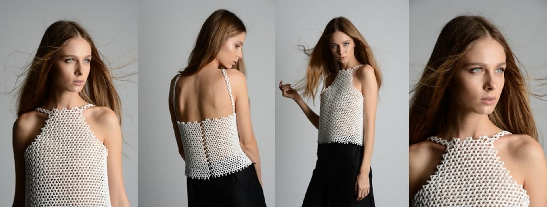 D Printed Dress Fashion
