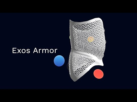 Exos Armor - 3D printed, breathable back braces