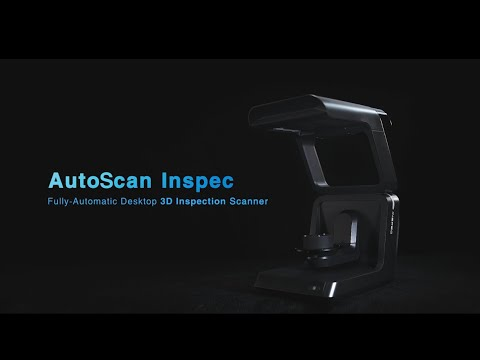 Automatic Desktop 3D Inspection Scanner AutoScan Inspec - SHINING 3D Metrology Solution