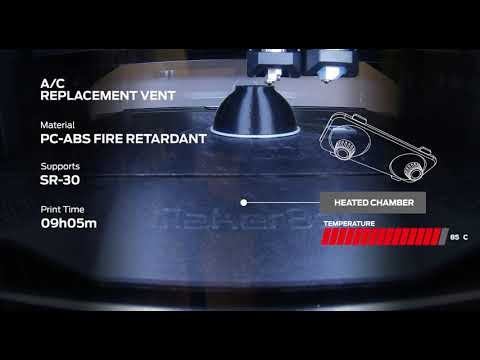 Timelapse: Introducing PC-ABS Fire Retardant for METHOD