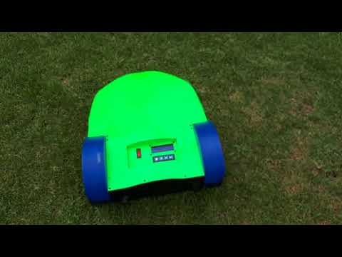 3D printed DIY Robot Lawn Mower Wire Tracking and Mowing