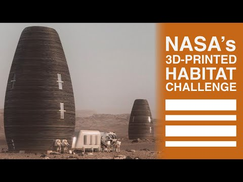 Teams Build 3D-Printed Habitats for Moon and Mars | NASA's Centennial Challenges
