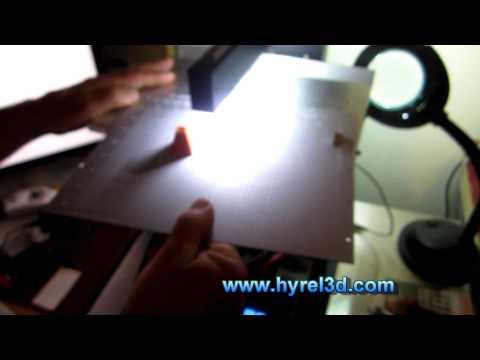 HYREL 3D - Clay Test Print