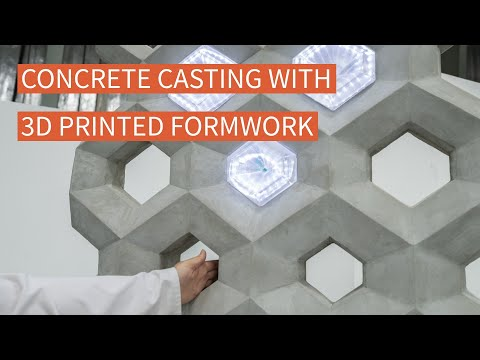 Concrete Casting with 3D Printed Formwork