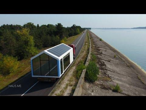 haus.me Autonomous Off-the-Grid Smart House delivery.