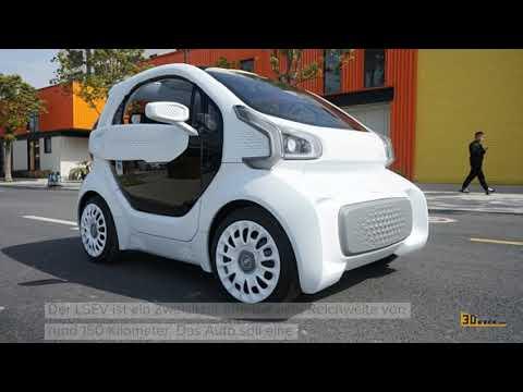 3D-gedrucktes Elektroauto LSEV um $7.500 reif für Serienfertigung