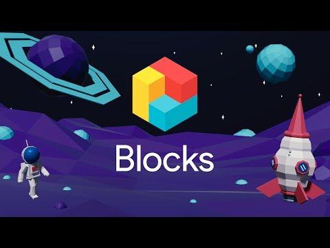 Blocks: Easily create 3D models in VR
