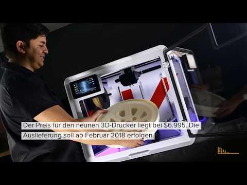 """Airwolf 3D stellt neuen 3D-Drucker """"EVO Additive Manufacturing"""" vor"""