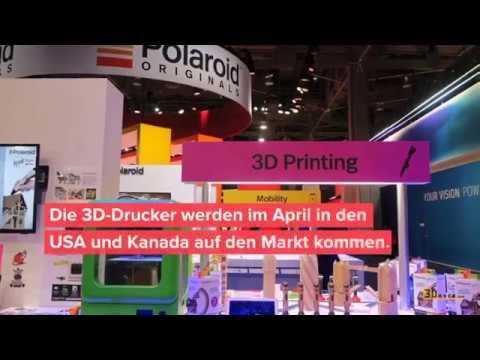 CES 2018: Polaroid präsentiert neue Nano 3D-Drucker Reihe