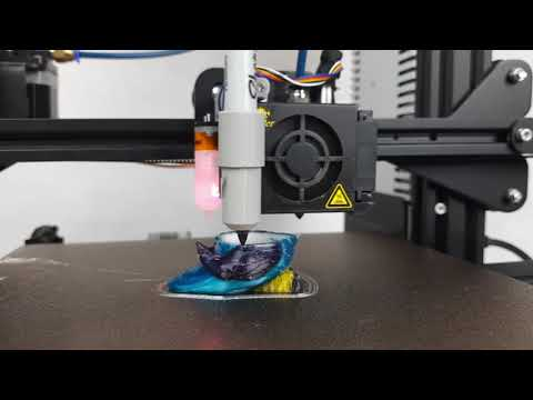 Free Multi Color Printing on Ender 3 without special Hardware