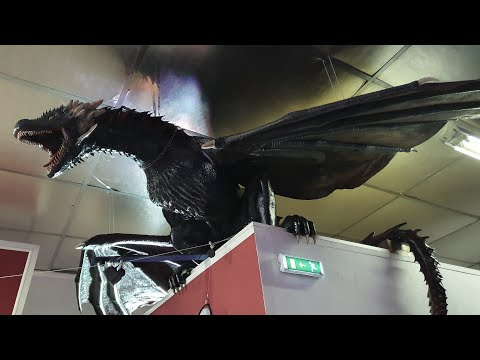 3D printed life size Game of Thrones DROGON #1