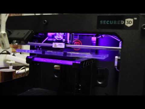 Secured3D the World's most advanced 3D printing copyright and 3d intellectual property software