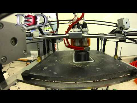 D3D Remote Mount Extruder In Action