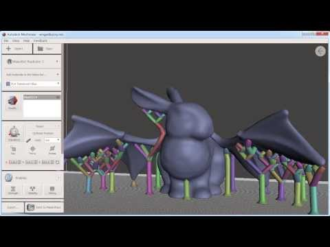 Autodesk Meshmixer for 3D Printing