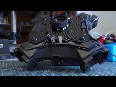 Windform 3D printed Tundra-M drone