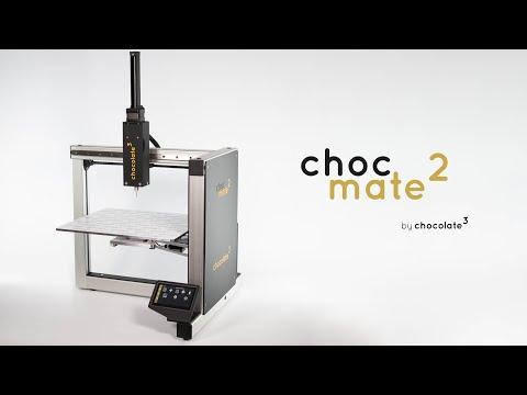 choc mate 2 - advanced chocolate 3d-printing by chocolate³ (Crowdfunding)