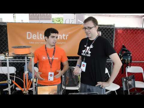 World Maker Faire 2013: Deltaprintr