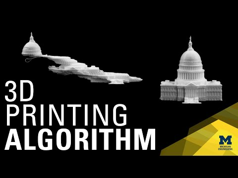 3D printing algorithm doubles speed and increases cost efficiency