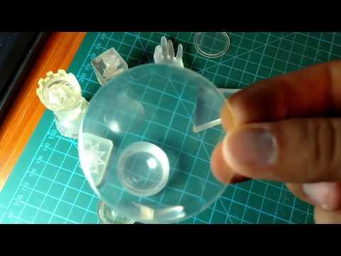 3D Printing Transparent Parts Using FDM/FFF Printer
