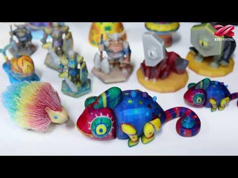 da Vinci Color mini- The most accessible Full-Color 3D Printer