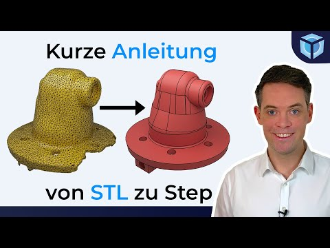 STL in STEP umwandeln mit FreeCAD & Netfabb