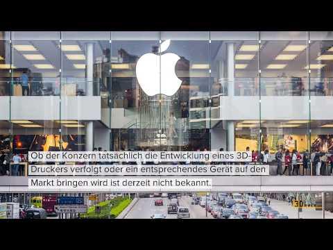 Apple erhält Patent für System zum Farb-3D-Druck