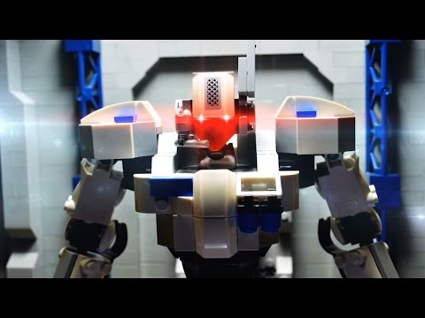 Lego stop motion - The Hero robot review