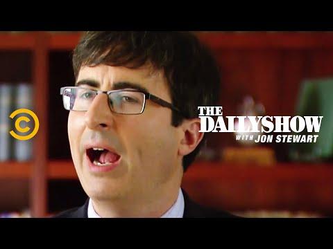 The Daily Show - Gun Control Whoop-de-doo (ft. John Oliver)