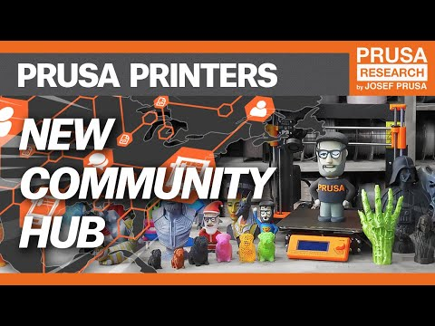 New PrusaPrinters: The best 3D model database and Prusa community hangout is here!