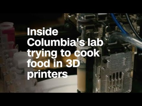Inside Columbia's lab trying to cook food in 3D prin...