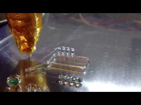 ShopBot Desktop Printing Carbohydrate Glass