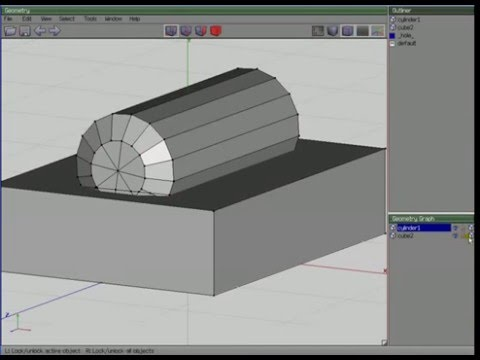 Wings3d: Cutting edges using Connect Tool