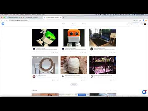 Fablabs.io/projects new platform. Hosted by Wikifactory