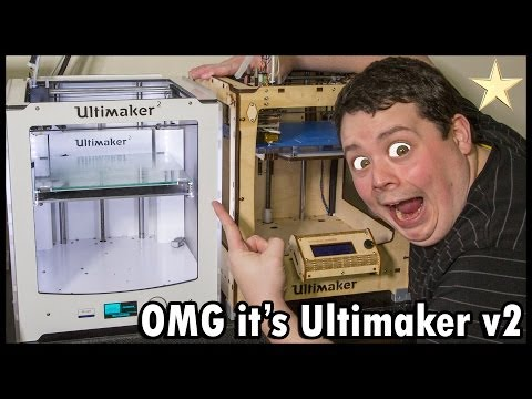 Ultimaker 2 3D Printer Unboxing & Review