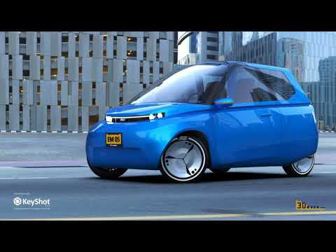 Studenten entwickeln recycelbares 3D gedrucktes Auto