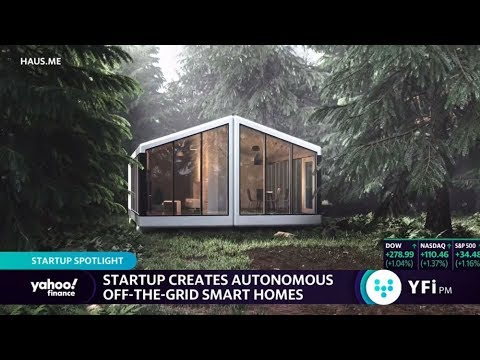 Yahoo Finance: This startup creates autonomous off-the-grid smart homes