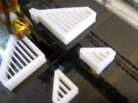 RapidBot1.0 3D printing Part 2
