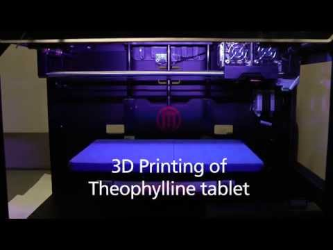 3D Printing Theophylline tablet