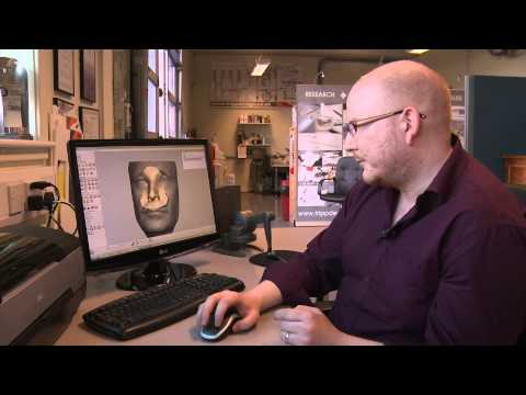 Soft tissue prostheses production using 3D colour printing