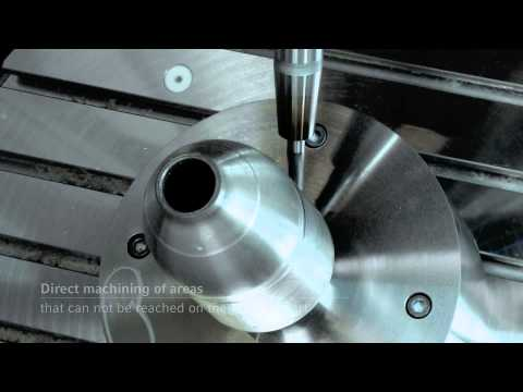 ALL IN 1: Laser Deposition Welding and Milling by DMG MORI