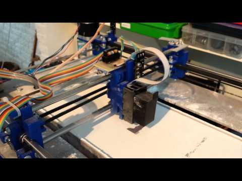 Plan B overview, Open source 3DP printer